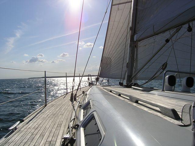 Greta mit dem Segelboot in die USA
