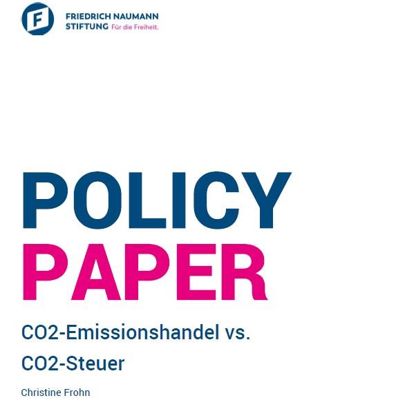 Police Paper. Emissionshandel vs. CO2 Steuer