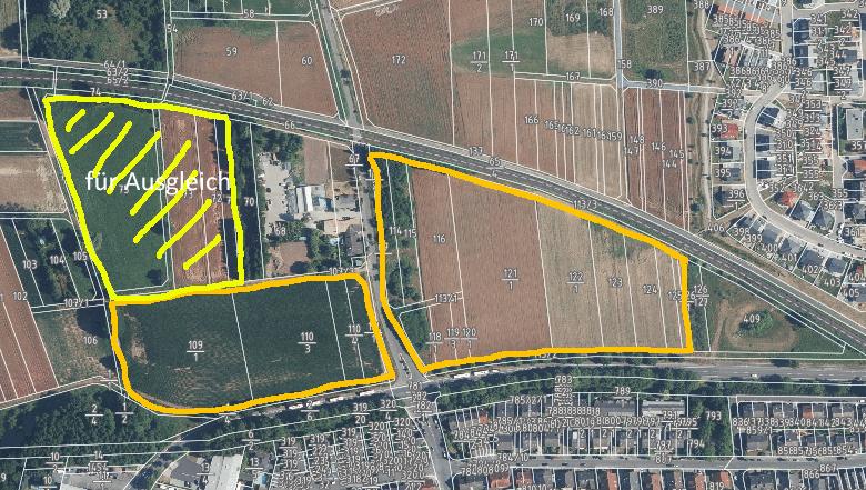 Baugebiet Rodaustraße