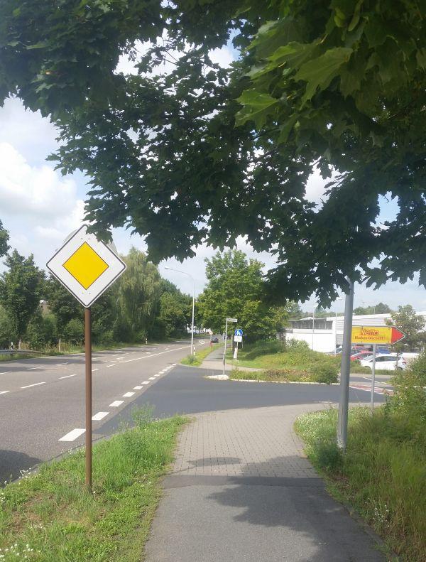 Brücke. Richtung Breidert zur Odenwaldstreaße