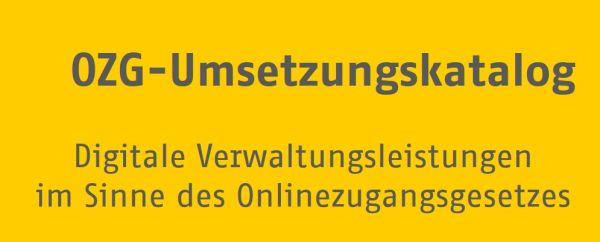 OZG. OnlineZugangsGesetz
