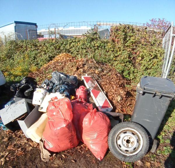 Müllsammelaktion Umweltfreunde Rödermark. 12.10.2019