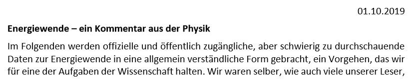 Energiewende. Uni Heidelberg
