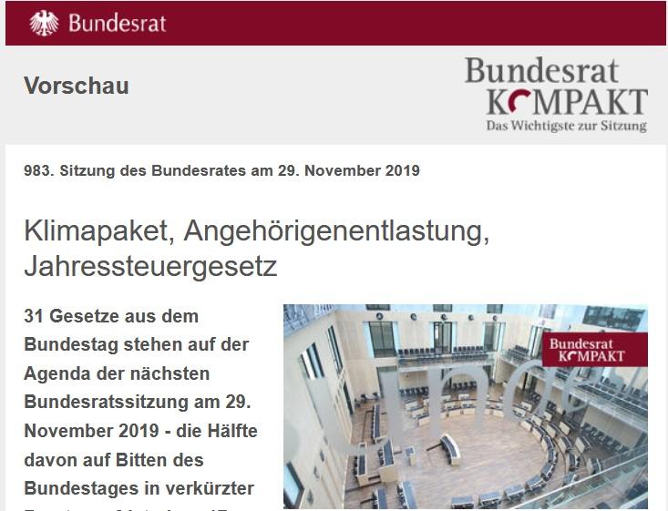 Bundesrat Kompakt