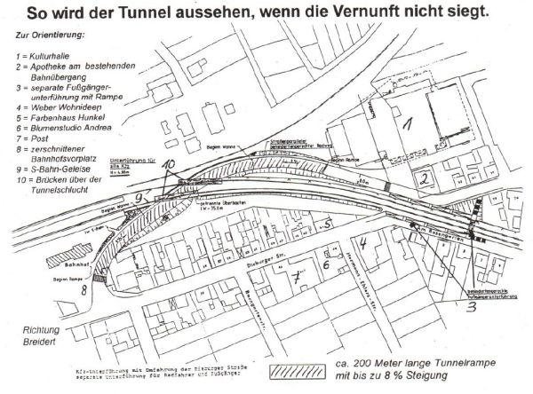 Tunnelschlucht in Ober-Roden