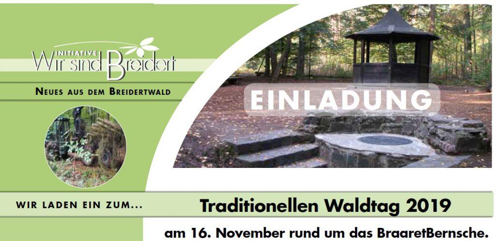Waldtag am BraaretBernsche 2019