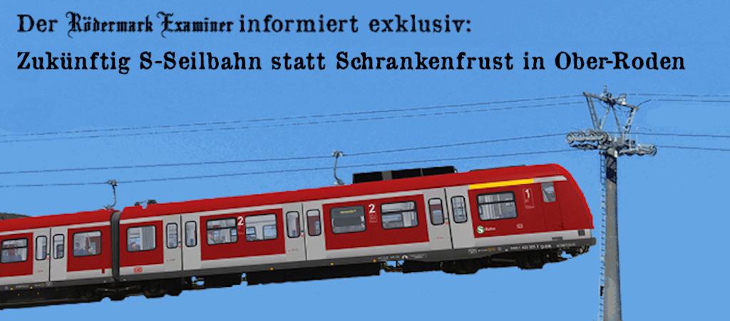 S-Seilnbahn für Bahnübergang Ober-Roden