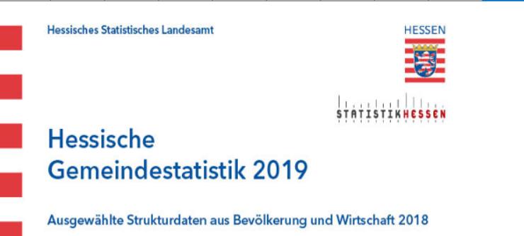 Hessische Gemeindestatistk 2019