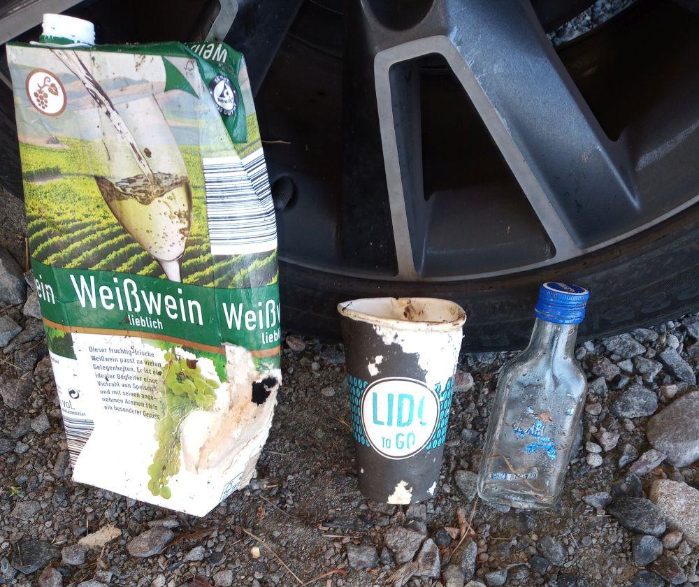 Nach dem Müll urteilen. Hauptnahrungsmittel einiger Ober-Röder.