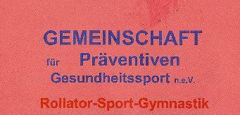 Gemeinschaft für präventiven Gesundheitssport