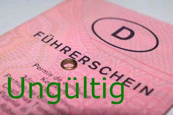 Führerschein gegen Hessenticket