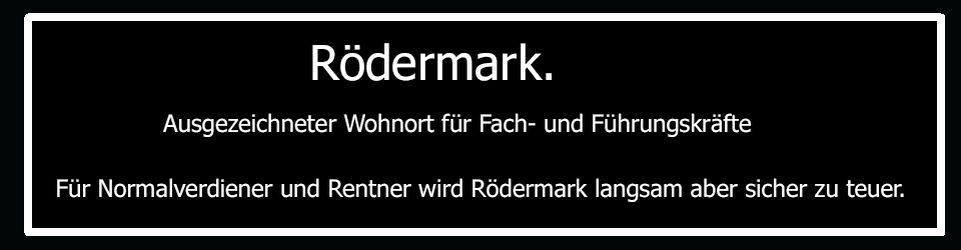 Blog für Rödermark. Rödermarkblog
