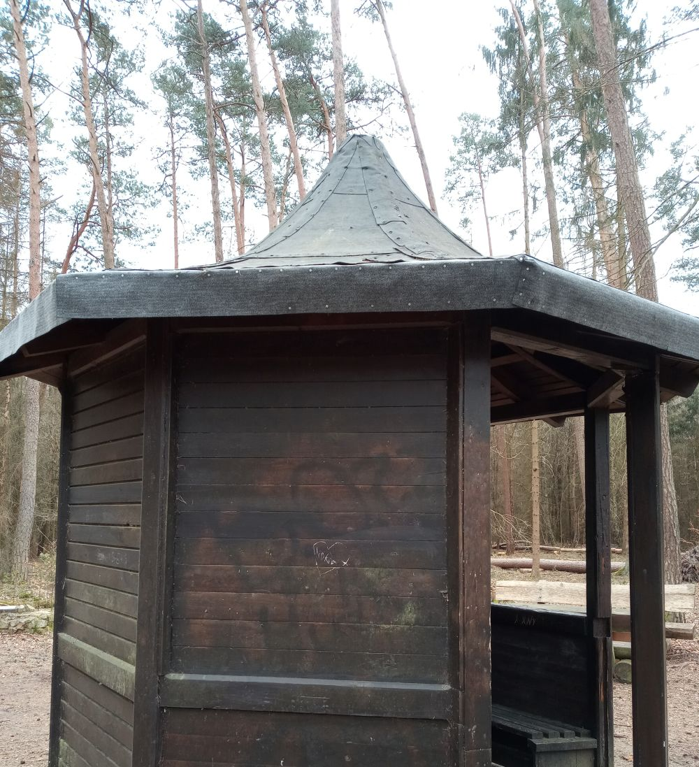 Dachreparatur Hütte am BraaredBernsche