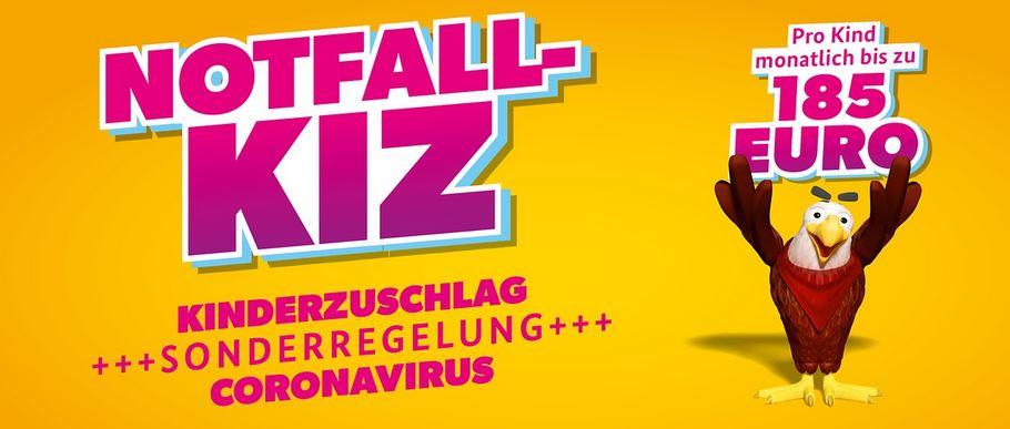 Notfall KIZ. Bildquelle:https://www.bmfsfj.de/kiz