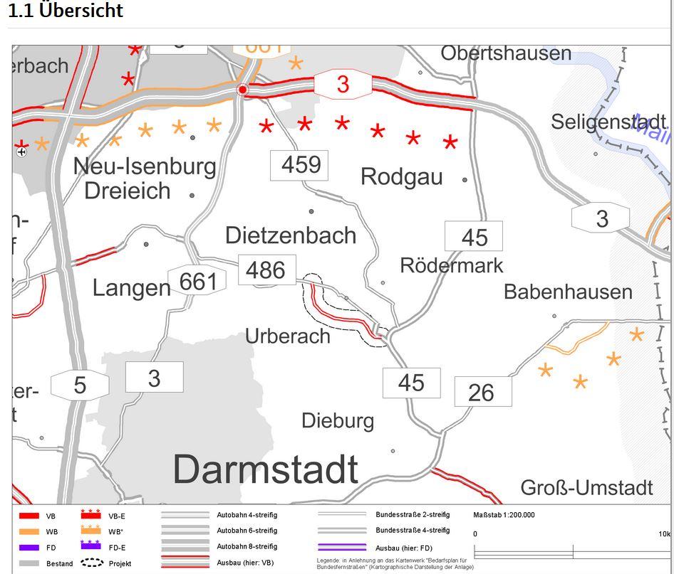 Verkehrswegeplan. Stand März 2015