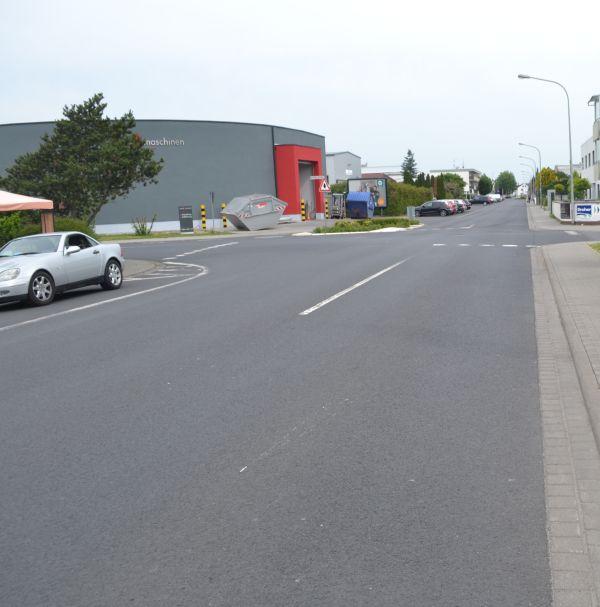 Rennstrecke Odenwaldstraße
