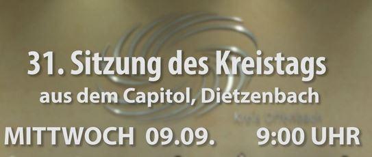 Kreistag. Live aus dem Capitol Dietzenbach (OF-TV.de)