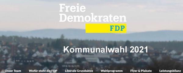 FDP Rödermark. Kommunalwahl 2021.