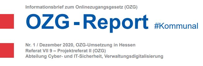 Land Hessen. OZG Report