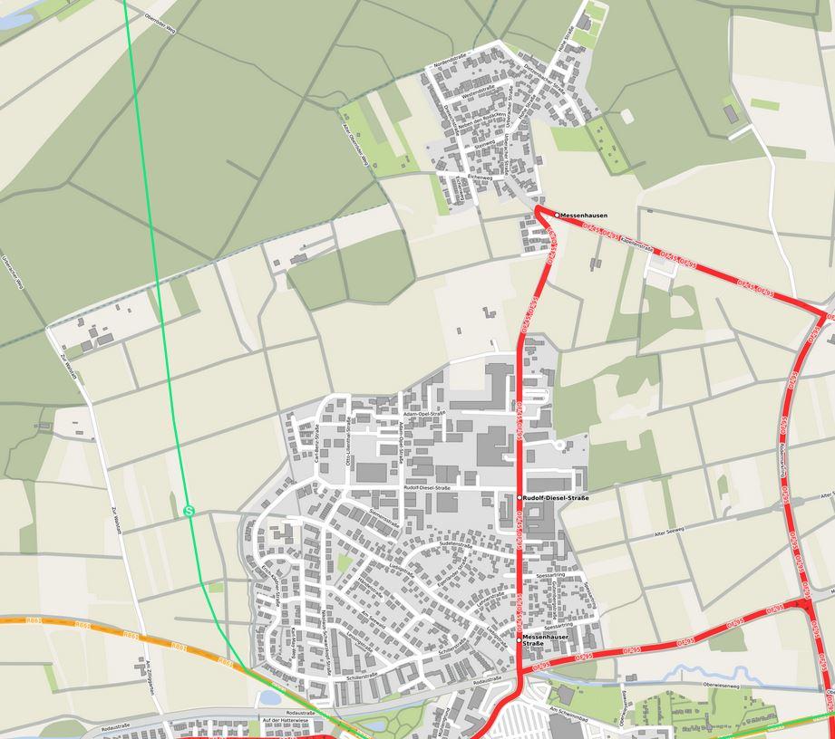 S2 Dietzenbach/Ober-Roden/Dieburg
