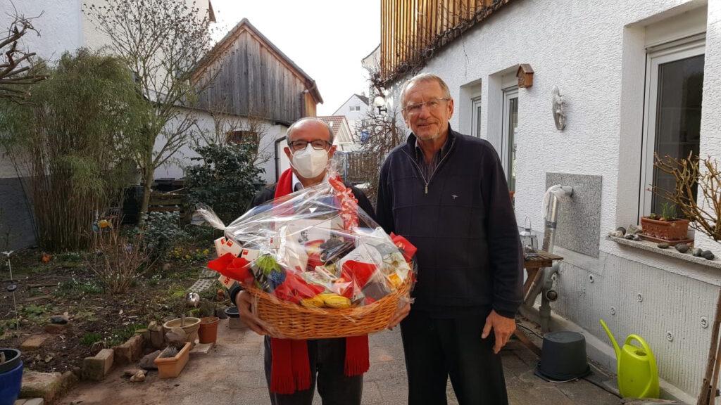 SPD ehrt Norbert Schultheis für sein Lebenswerk