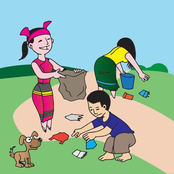 Sauberhafter Kindertag