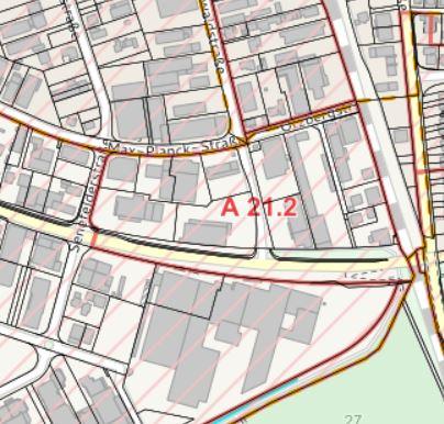 Bebauungsplan lt. Bürger GIS